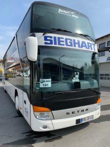 Sieghart Reisen Bus BMW